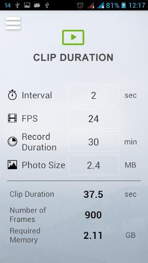 【免費攝影App】Slidekamera Timelapse Calc.-APP點子