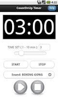 Screenshot of Countdown Countup Timer