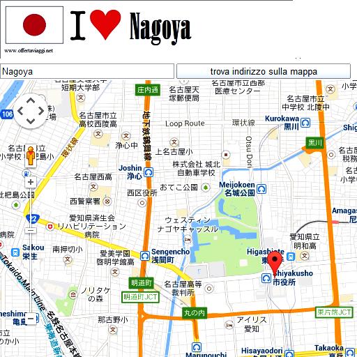 Nagoya maps