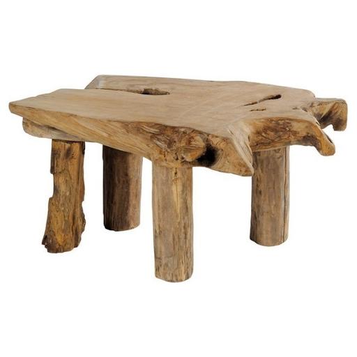 table basse en bois style montagne. Black Bedroom Furniture Sets. Home Design Ideas