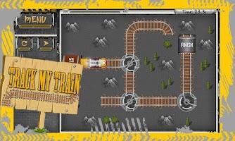 Screenshot of Track My Train