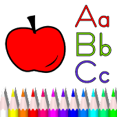 Alphabet Coloring Book for Kid