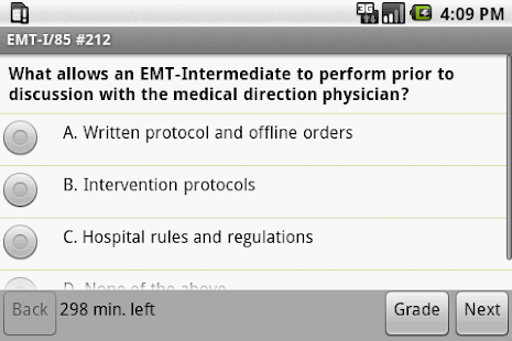 NREMT EMT I-85 Exam Prep - screenshot thumbnail