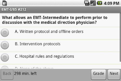 NREMT EMT I-85 Exam Prep - screenshot thumbnail