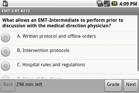 NREMT EMT I-85 Exam Prep- screenshot