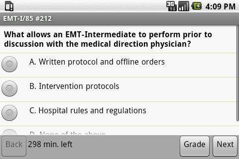 NREMT EMT I-85 Exam Prep - screenshot
