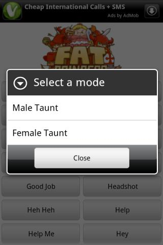 Fat Princess Soundboard Lite - screenshot