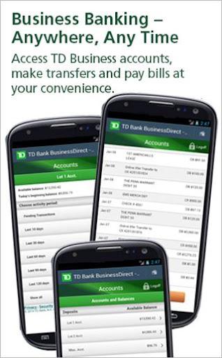 TD Bank BusinessDirect