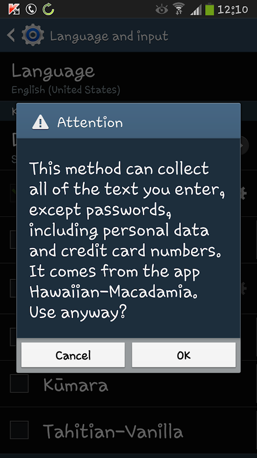 Hawaiian Macadamia- screenshot