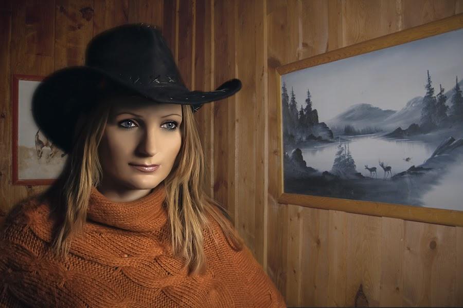 Waiting by Toni Oprea - People Portraits of Women ( girl, woman )