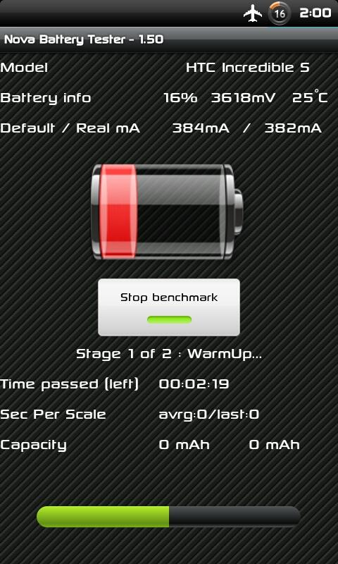 Nova Battery Tester - screenshot