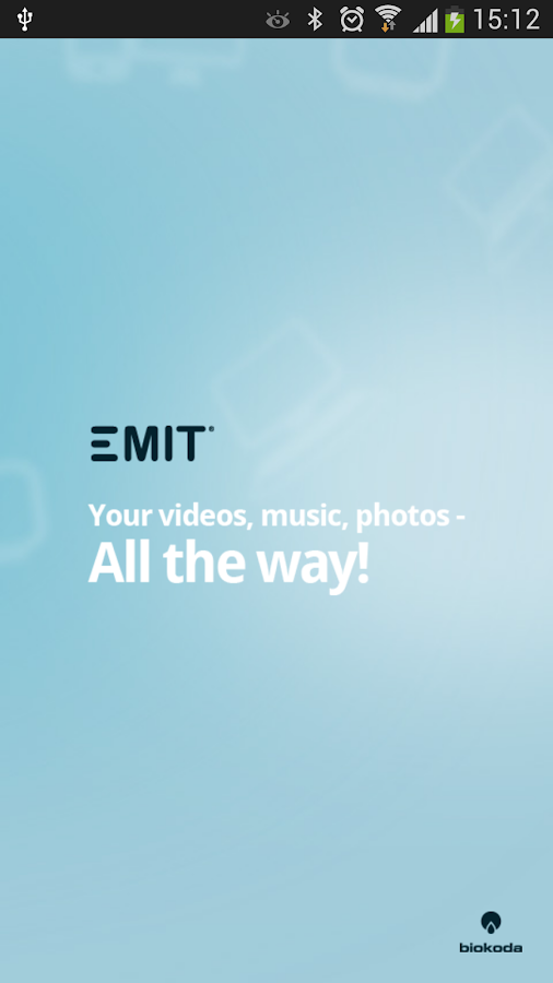 Emit - screenshot