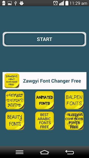 Zawgyi Font Changer Free