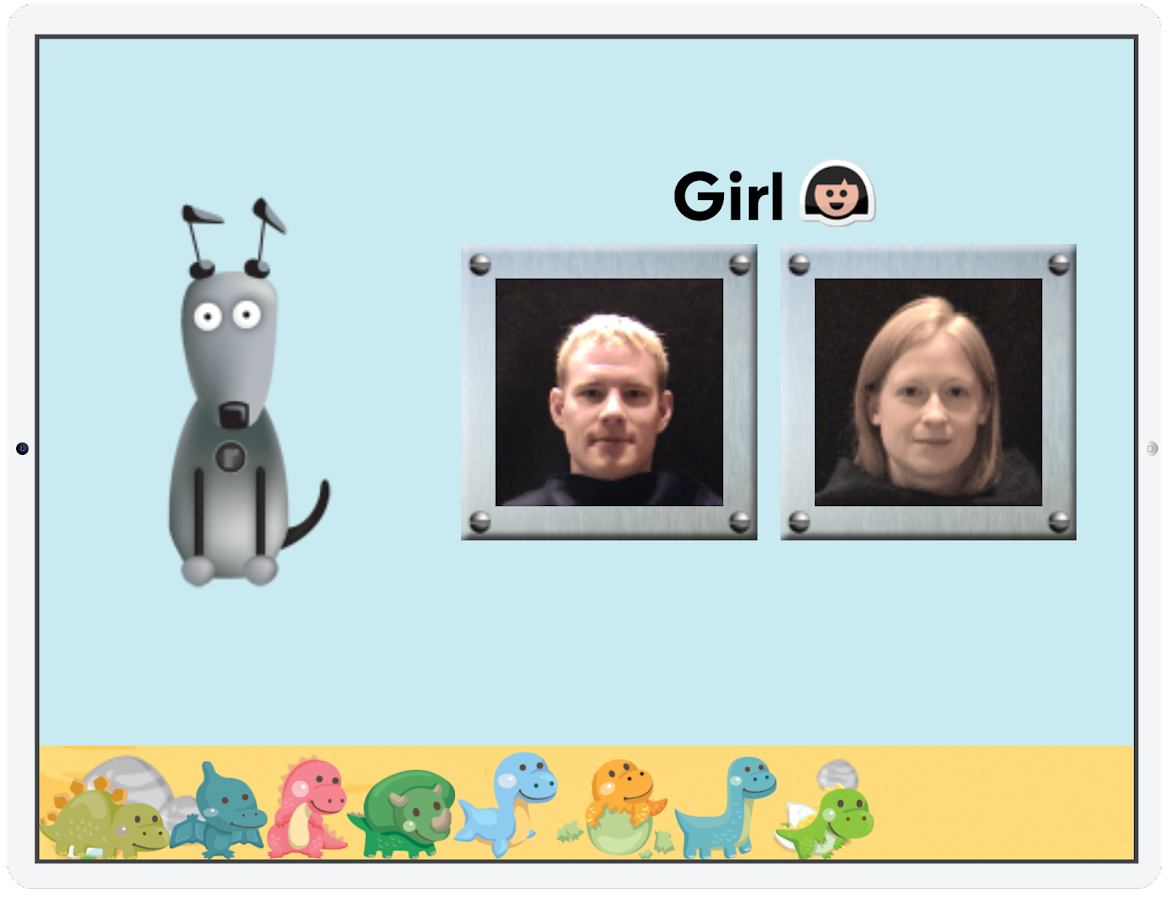 Learn with Rufus: Boys & Girls- screenshot
