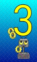 Screenshot of Counting Robot (Ad Free!)