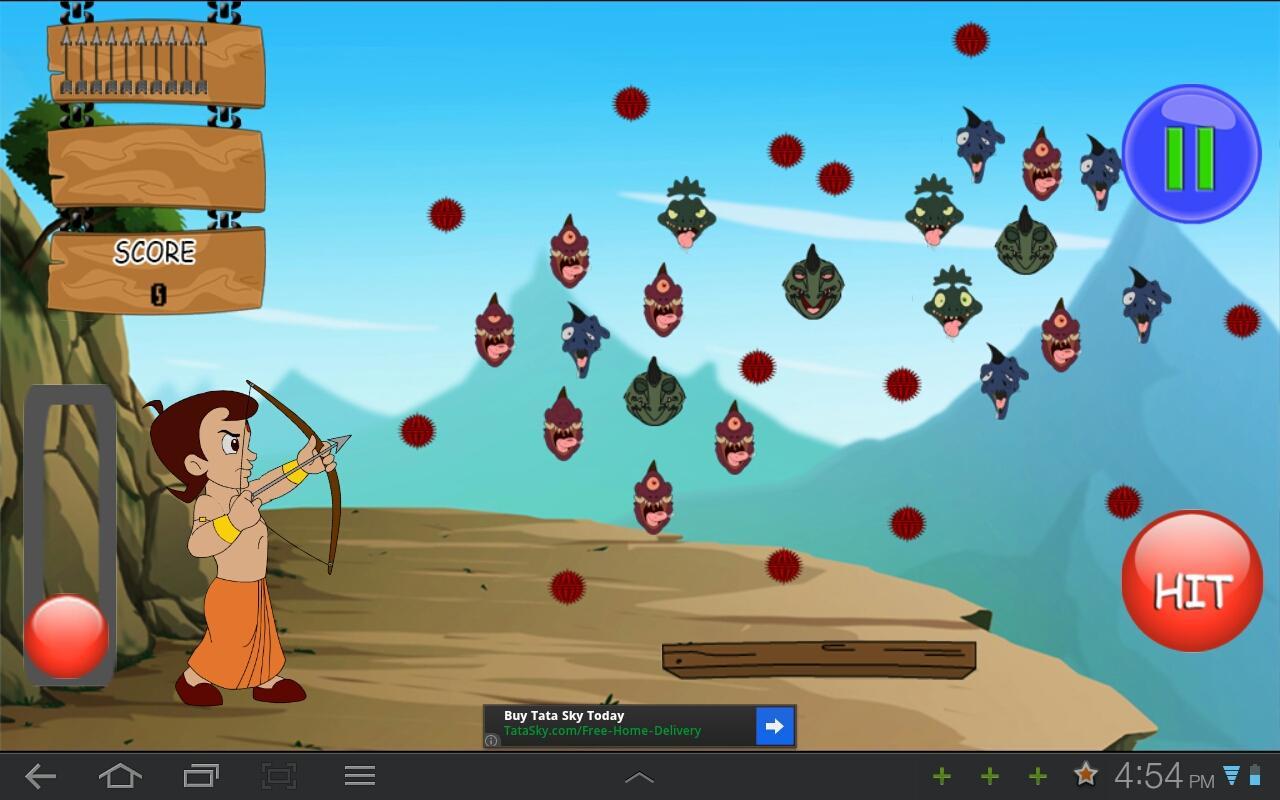 Chota bheem archery game free download   games.