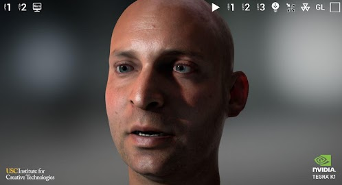 NVIDIA Tegra FaceWorks Demo Screenshot 2