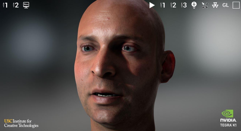 NVIDIA Tegra FaceWorks Demo - screenshot