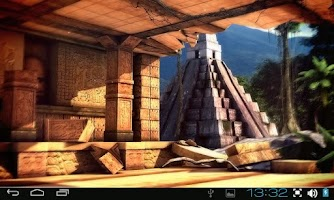 Screenshot of Mayan Mystery 3D Pro lwp