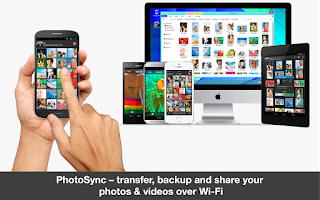 Screenshot of PhotoSync – Photo Transfer