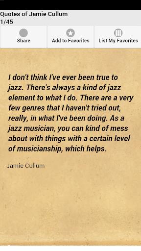 Quotes of Jamie Cullum