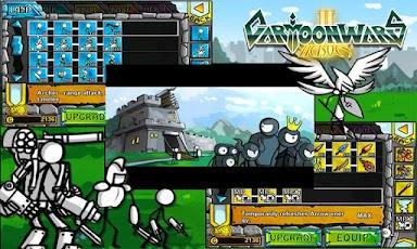 اللعبة الرائعة: Cartoon Wars 2 v1.0.0 Offline Apk Direct|48MB