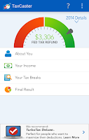 Screenshot of TaxCaster by TurboTax - Free