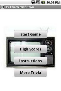 TV Commercials Trivia - screenshot thumbnail