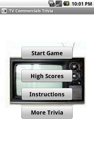 TV Commercials Trivia - screenshot