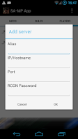 Screenshot of SA-MP App