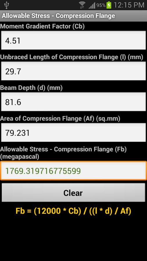 Structural Engineering Calculations : Structural engineering calc android apps on google play