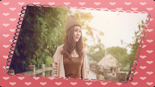 Happy Love Frame Beauty Camera