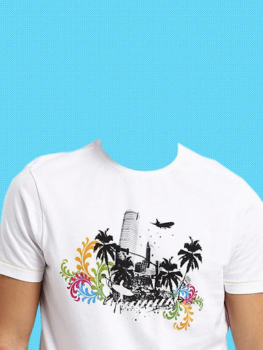 Man T-Shirt Photo