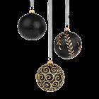 Christmas Ornament Black icon