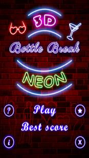 Neon Party Bottle Shot