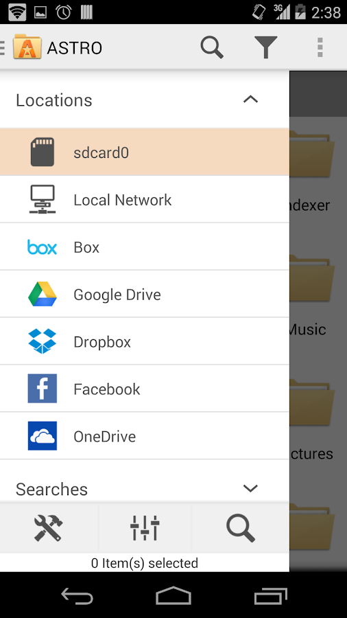 ASTRO File Manager with Cloud - screenshot