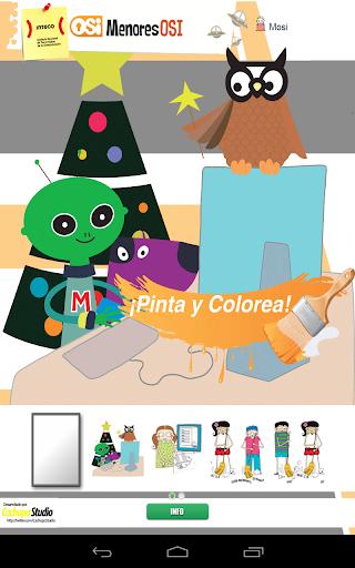 Pinta y Colorea Mosi y amigos