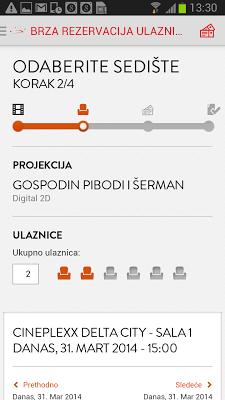 Cineplexx Srbija - screenshot