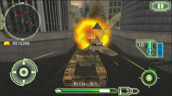 Crazy Fighting Tank 3D-FPS - screenshot thumbnail