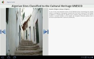 Screenshot of Algeria Guide