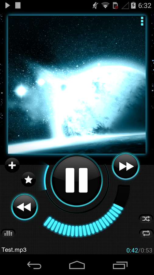 Astro Player - screenshot