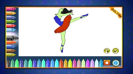 Coloring Book Dancing 1.7.0 screenshots 8