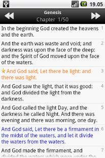 Holy Bible (ASV)- screenshot thumbnail
