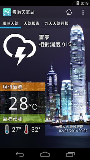 香港天氣站