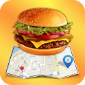 Find Fast Food (Food Locator) icon