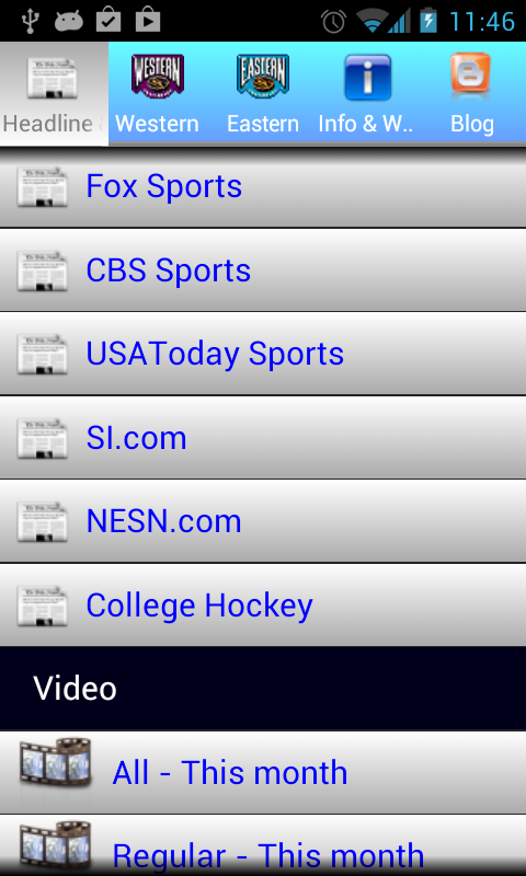 Hockey Center 2015 - screenshot