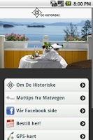 Screenshot of De Historiske