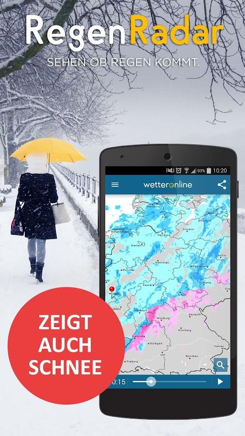 RegenRadar – Android-Apps auf Google Play