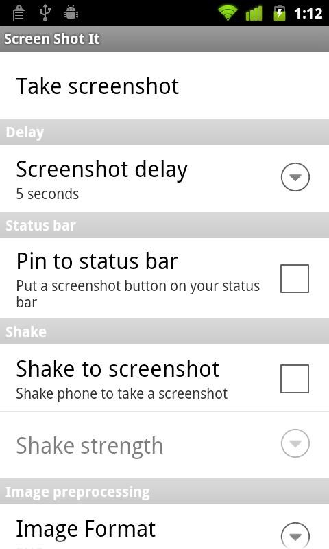 No Root Screenshot It – Screenshot