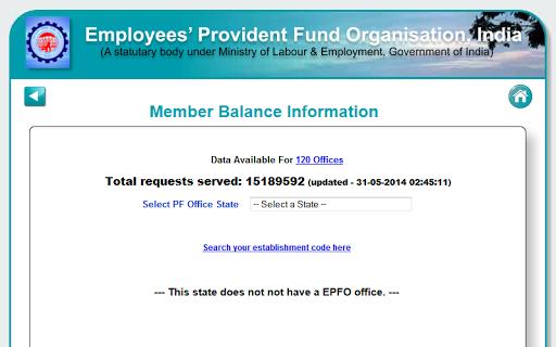 EPF Balance Provident Fund
